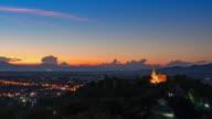 Wat Phra That Doi Saket at sunset video