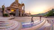 Wat Phra That Pha Son Kaew at sunset video