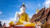 Wat Rajamontean Beautiful Temple of Chiang Mai, Thailand (zoom out) video