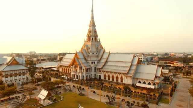 wat sothorn temple chachengsao thailand video