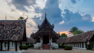 Wat Ton Kain, Old wooden temple in Chiang Mai Thailand video