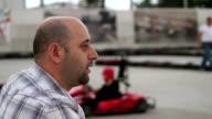 HD: Watching Karting video