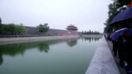 watchtower of Summer palace in Beijing, China video