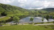 Watendlath Tarn Lake District Cumbria England uk near Derwent video