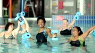 Water Aerobics video