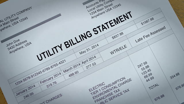 Water and Electric Past Due Bill video