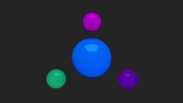 Water circle diagram flow chart, 4 result circle presentation templete 2 video