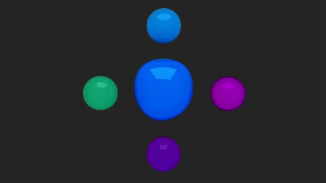 Water circle diagram flow chart, 5 result circle presentation templete 2 video