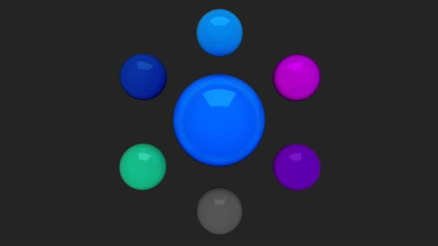 Water circle diagram flow chart, 7 result circle presentation templete 2 video