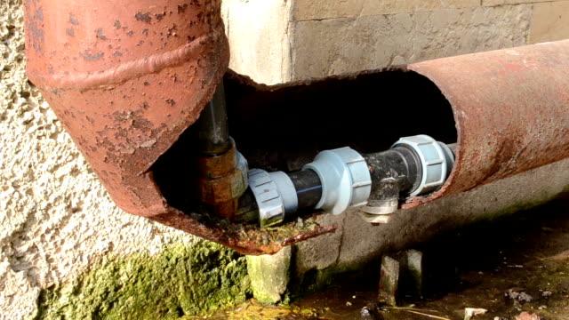 Water Corner Pipe Leaks video