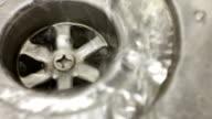 Water draining video