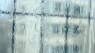 Water drops on the windows video
