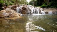 Water fall, Crane shot video