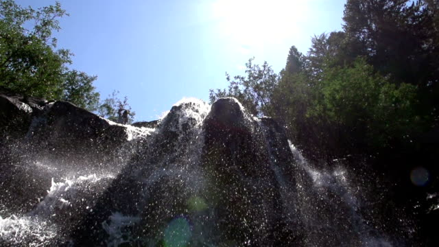 Water Fall Looking Up video