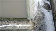 water flow sedimentation video