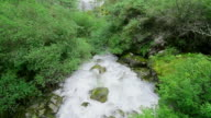water flowing in Yading national reserve video