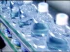 Water in plastic bottle (PET) video