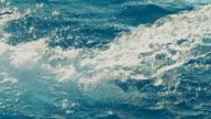 HD SLOW MOTION: Water Jet Splashing In Pool video