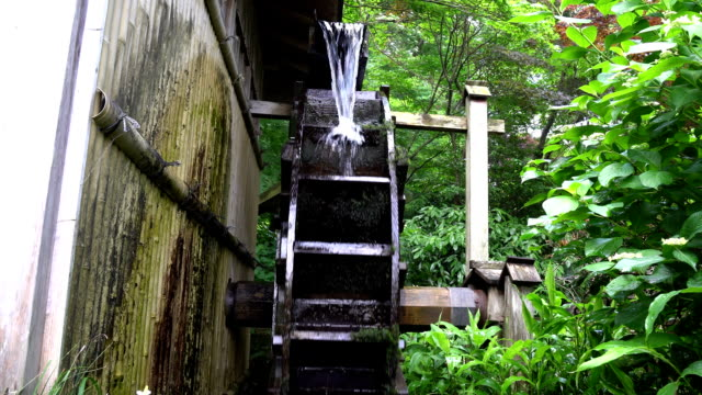 Water mill recorded at 10AM on June 8, 2016(with operating sound) video