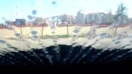Water on Window video