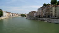 Water Passage Through Lyon France video