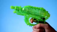 Water pistol video