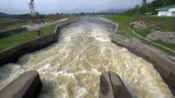 Water power (panning shot) video