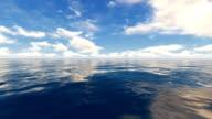 Water Sky Horizon video