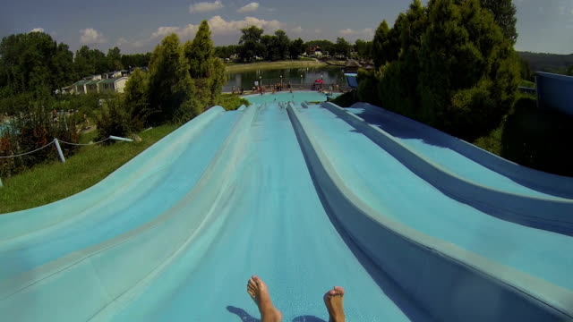 Water slide video
