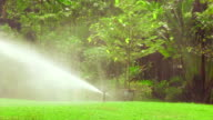 Water Sprinkler video