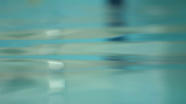 Water surface closeup. Abstract water background. Beautiful waves ripple video