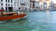 Water Trip on the Grand Canal (Canale Grande) video