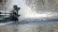 Water turbine machine video