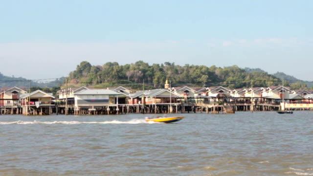Water village in Brunei video