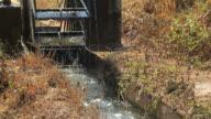 Water wheel irrigation video