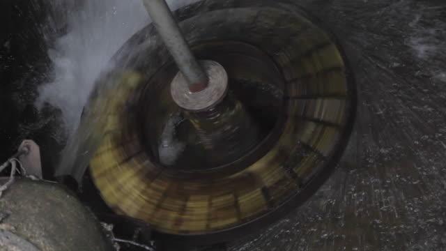 Water Wheel Rotating video