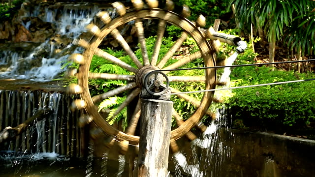 Water Wheel. video