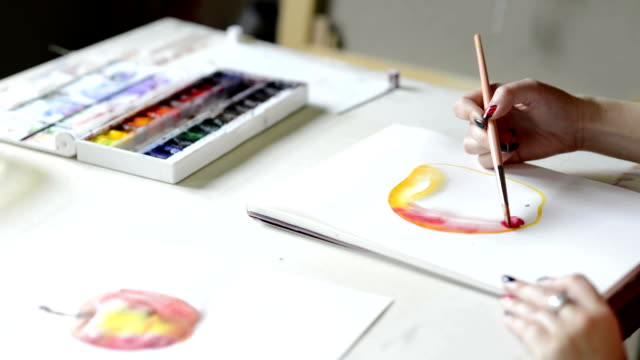 Watercolor Painting video