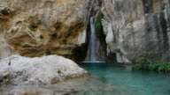 waterfall and natural pool video