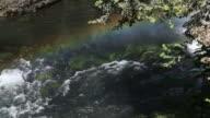 HD: Waterfall and Rainbow video