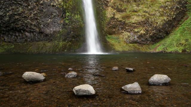 HD waterfall and rocks video