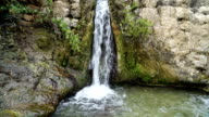 Waterfall at the Sahne video