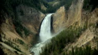 Waterfall at Yellowstone video