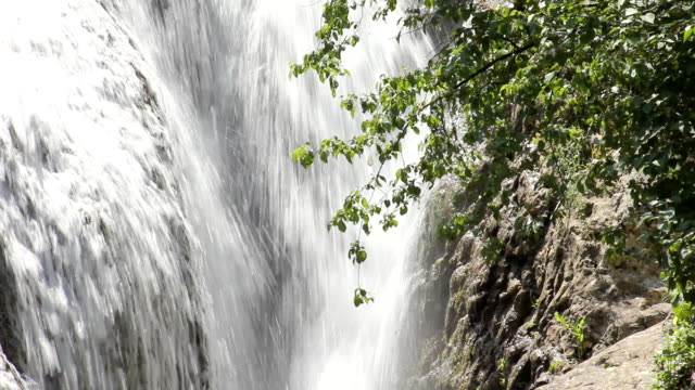 Waterfall - detail video