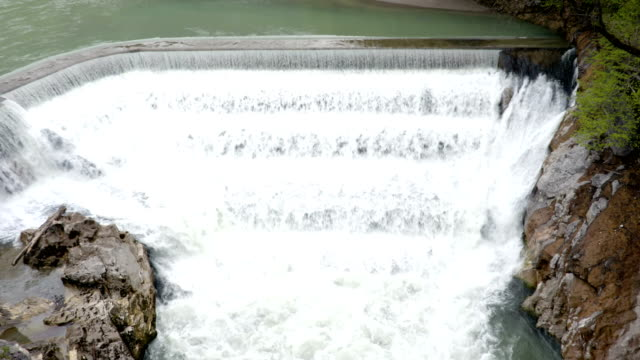 Waterfall from above video