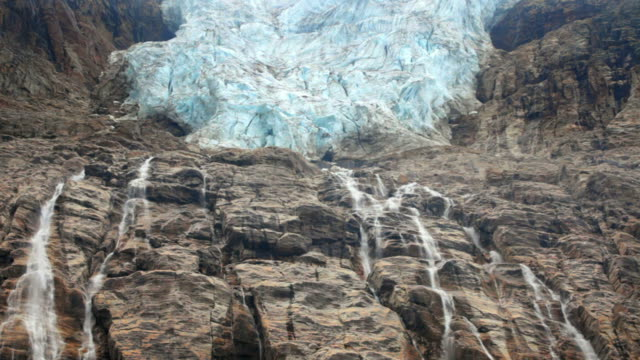 Waterfall from Angel Glacier video