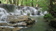 Waterfall in Deep forest ,Thailand video