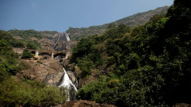 Waterfall in India video