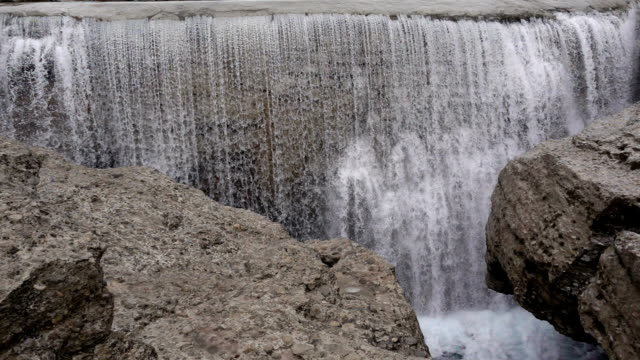 Waterfall in Montenegro video