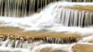 Waterfall in nature video
